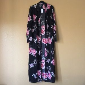 Windsor Floral Duster - Medium